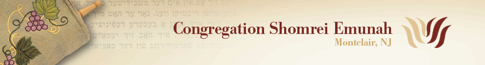 Welcome to Congregation Shomrei Emunah